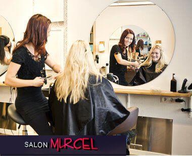woman in the salon