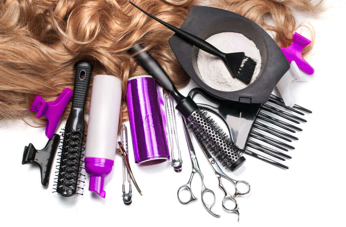 tools for a salon